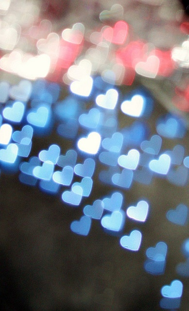 4th of julyLights, 4Thofjuly, Fourth Of July, Cute Ideas, Red White Blue, 4Th Of July, Heart Bokeh, Blue Heart, Pink Blue