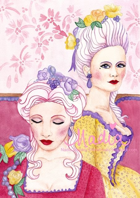 Marie & Cecile (www.artofnadia.blogspot.com)