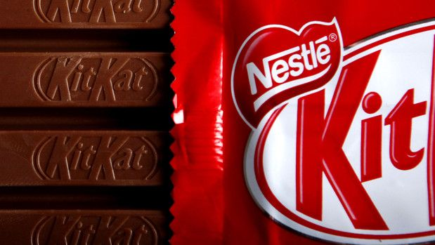 Nestle, Cadbury Turn to KitKat Shape After Color Purple Case