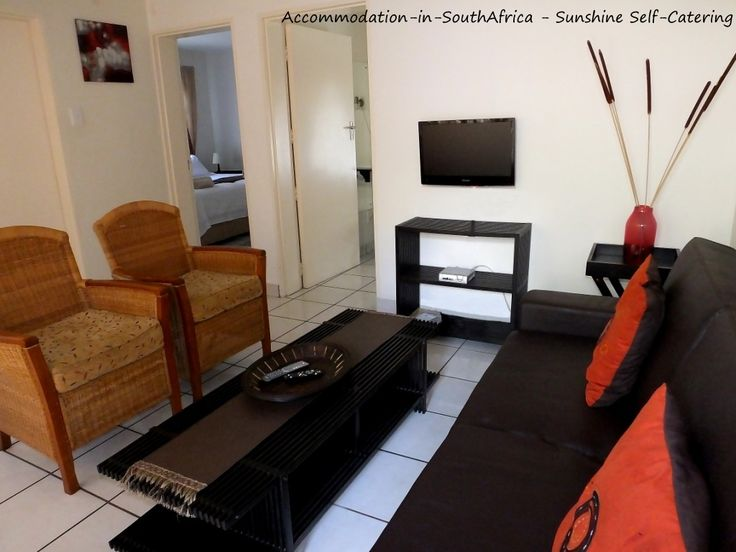 Lounge at Sunshine Self Catering. http://www.accommodation-in-southafrica.co.za/Mpumalanga/Nelspruit/SunshineSelfCatering.aspx