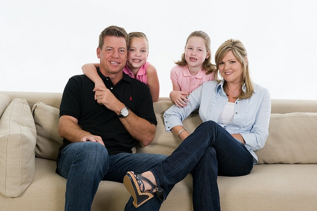 Troy Aikman And Family For Aikman Pinterest Troy