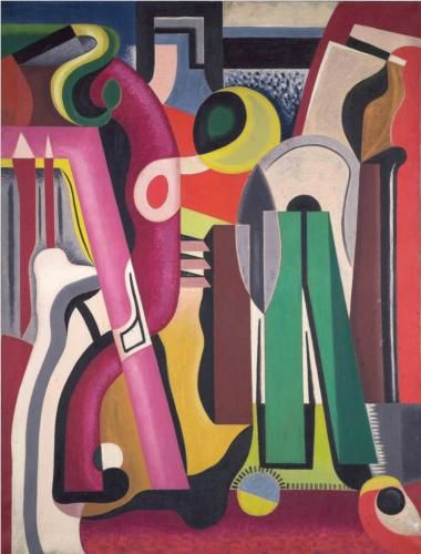 Auguste Herbin (French: 1882 - 1960) | Composition (1927)