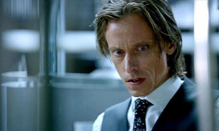 Mackenzie Crook as Rudy Lom from Almost Human, Season 1, Episode 4 - The Bends
