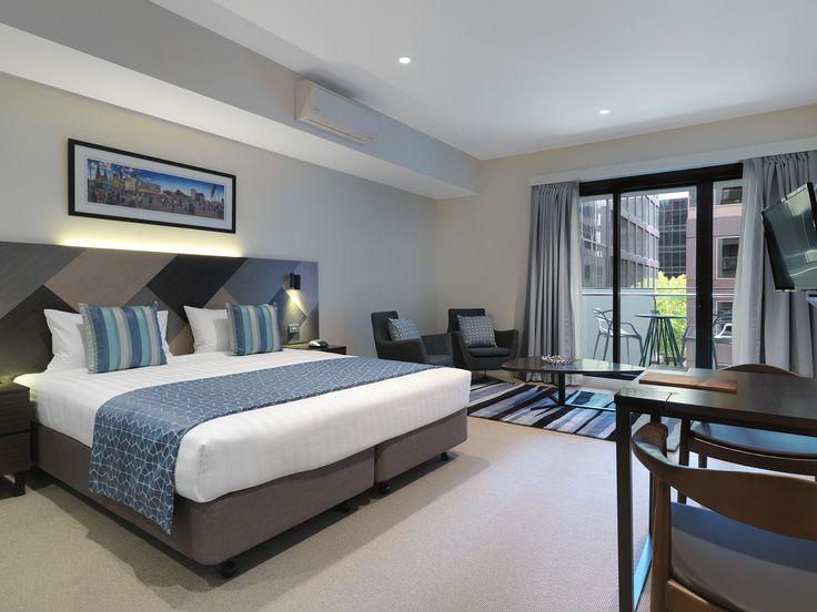 Studio Deluxe (Sleeps 2) | Wyndham Hotel Melbourne