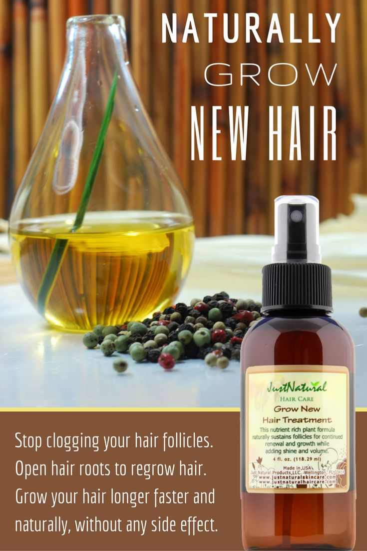 Focus on your scalp and follicles for faster hair growth.This grow new hair treatment is one of the best ways to make your hair grow faster and longer. This treatment is deeply absorbed to restore life, vitality and strength by protecting your hair from the inside out. Not only are essential oils good to help hair grow fast, the blend of oils in this treatment adds moisture, softness, shine and body to your hair.