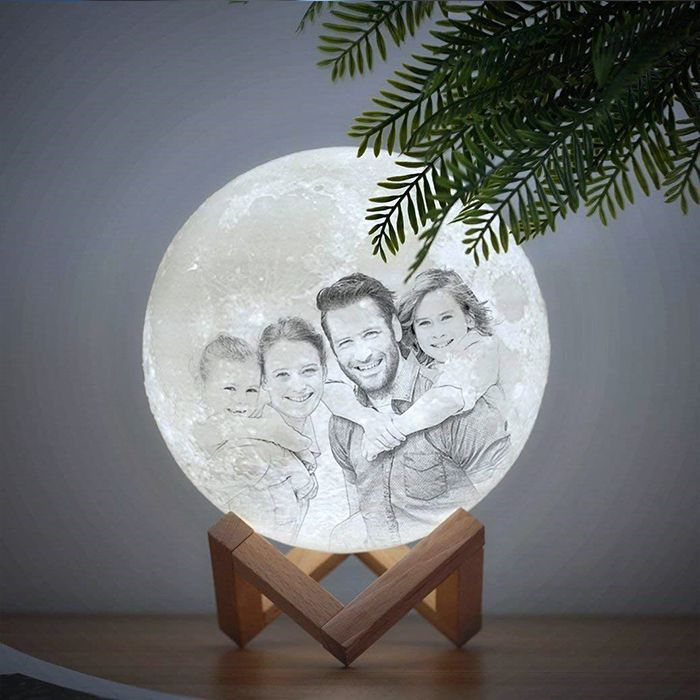 Personalized Photo 3d Moon Lamp Personalised Gifts For Girlfriend 3d Lamp Print Your Photos