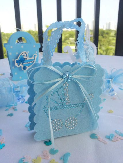 12 BABY SHOWER Goodie Bag.baby Shower Party Favor. Baby Boy Party Favor.
