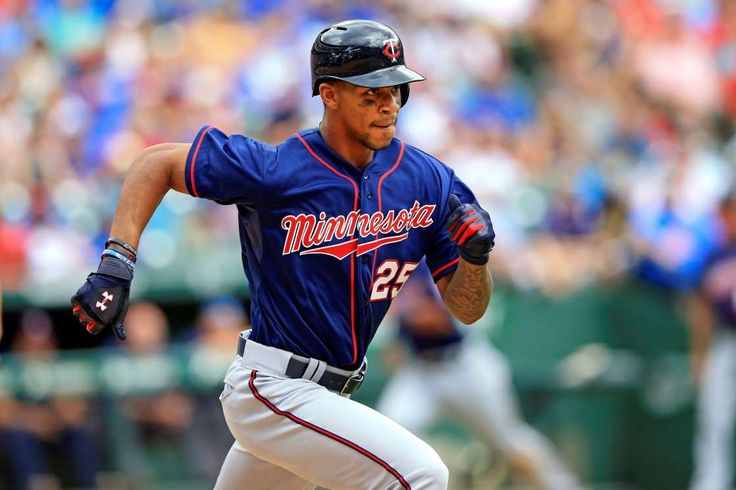 The 10 worst hitters of 2017 (so far)  -  April 28, 2017:       6. Byron Buxton, Minnesota Twins (OPS+: 24)  -   0 HR, 1 RBI, .145/.243/.177  -    Jun 14, 2015; Arlington, TX, USA; Minnesota Twins center fielder Byron Buxton (25) runs to first base during the game against the Texas Rangers at Globe Life Park in Arlington.