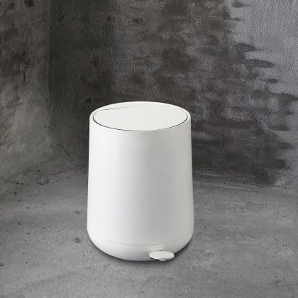 Zone denmark nova pedal bin in tal van kleuren for Ceramic bathroom bin