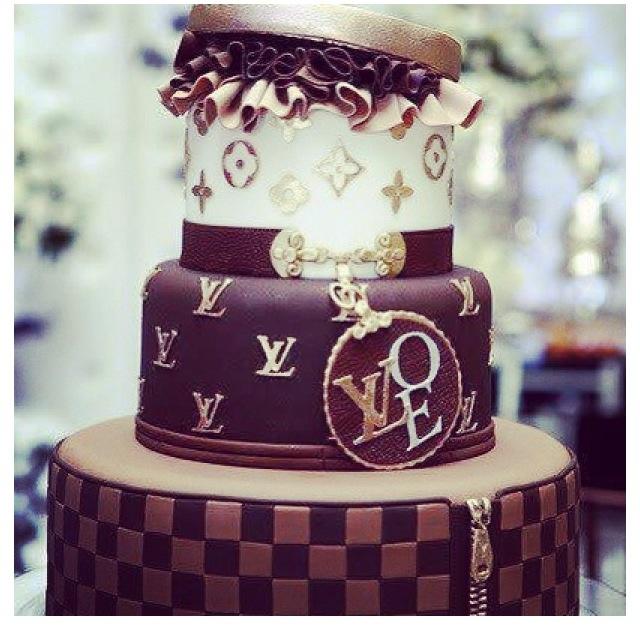 Louis Vuitton Birthday Cake Cake Pops Amp Cakes