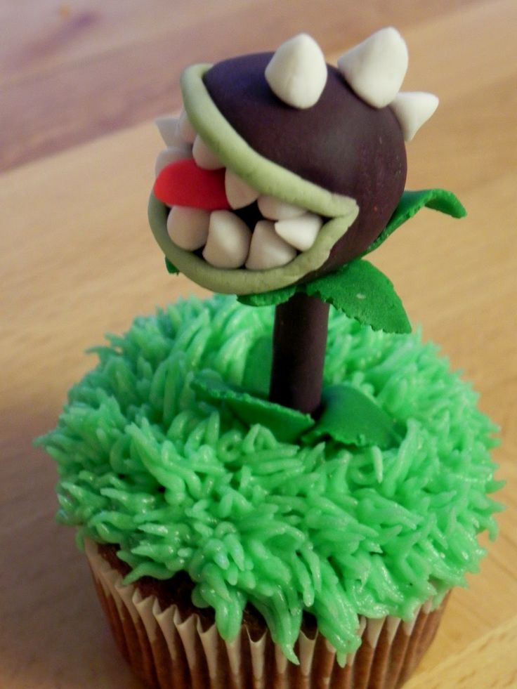 plants vs zombies cupcakes | Plants Vs. Zombies Cupcakes MommaDandDaBoyz.net