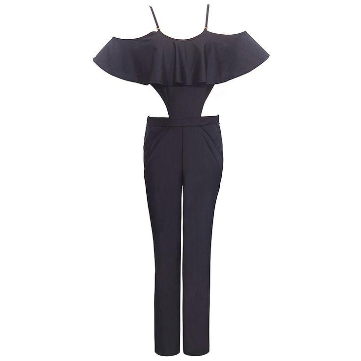 Koop Nieuwe Collectie Ruches Regelmatige Verzending Fashion Sexy Brooke Jumpsuit En Kleur Rompertjes Strapless Golf Stuk Broek