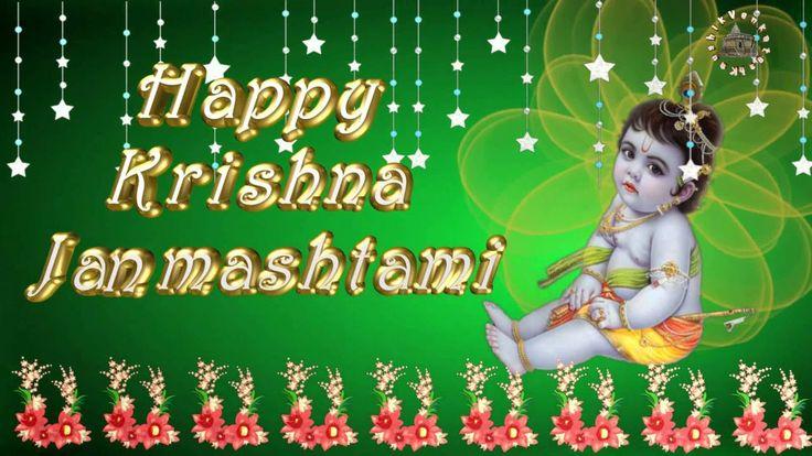 Krishna Janmashtami,Happy Janmashtami 2016,Wishes,Greetings,Animation,Im...