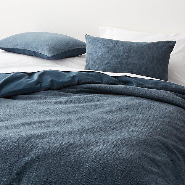 Lindstrom Blue King Duvet Cover Reviews Crate And Barrel Blue Duvet Cover Gray Duvet Cover Duvet Cover Master Bedroom