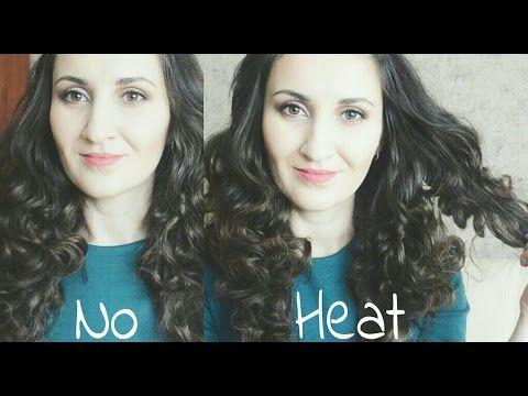 Islak Mendille Dalgalı Saçlar | Isı Kullanmadan Dalgalı Saçlar | No Heat Waves/Curls - YouTube