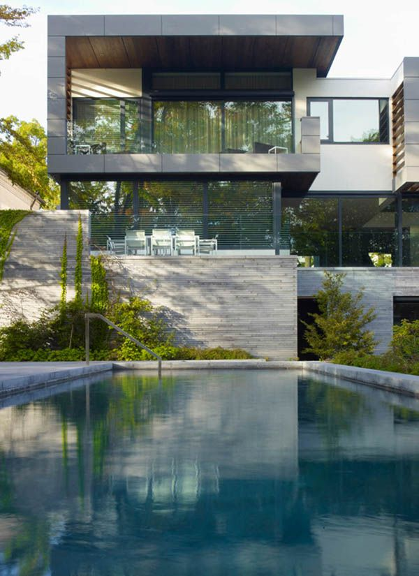 Sumptuous Toronto Residence with inspiring details was designed by Belzberg Architects