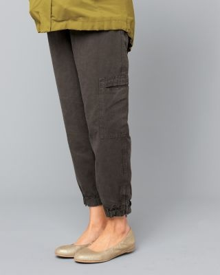 Eileen Fisher Cropped Cargo Pants