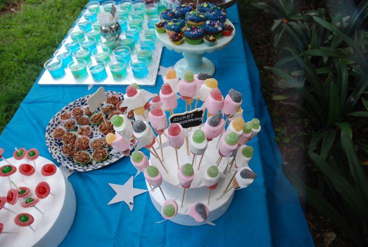 rocket marshmallows