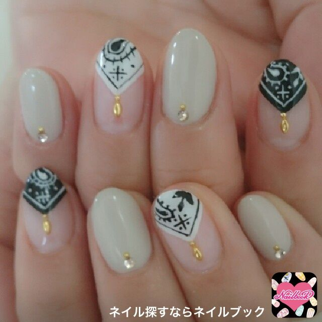 bandana nail