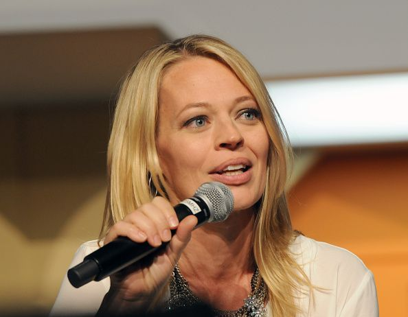 Actress Jeri Ryan at the 14th annual official Star Trek convention at the Rio Hotel Casino on August 8 2015 in Las Vegas Nevada