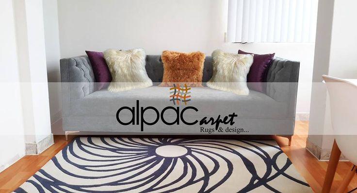 Alpacarpet alfombras de diseño, personaliza tu estilo 100% en lana de ovino y alpaca