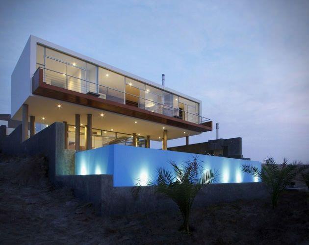 Ultra modern bachelor beach house q by longhi architects