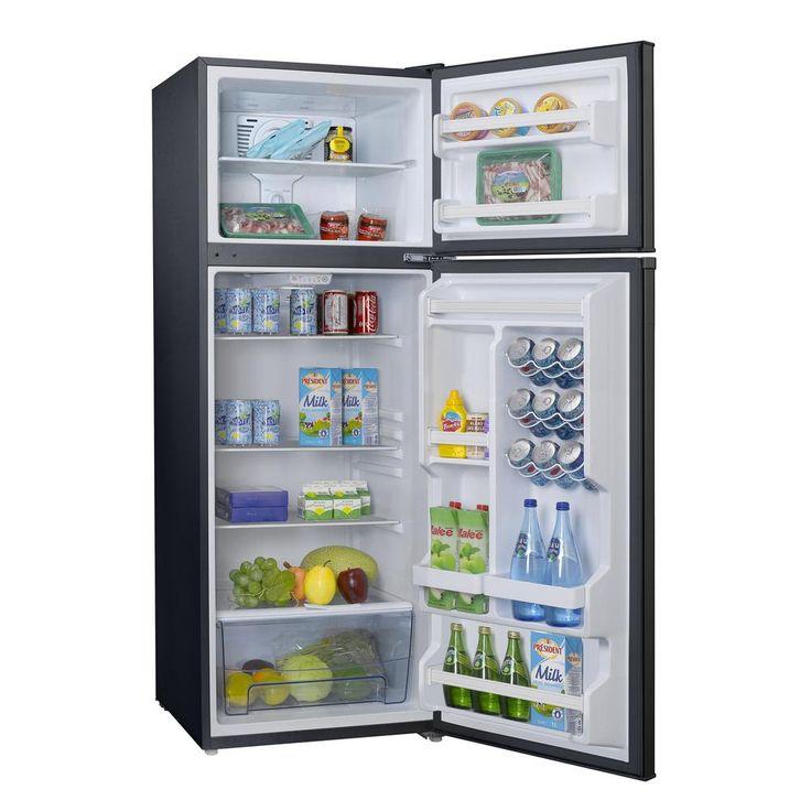 Galanz 120 cu ft top freezer retro refrigerator with