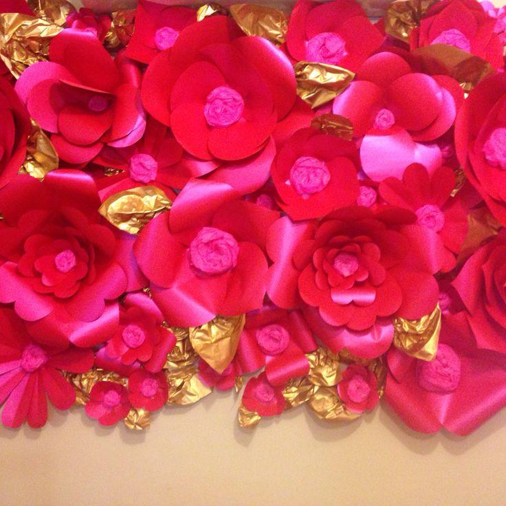 Flores de papel Handmade Detallitos de Papel