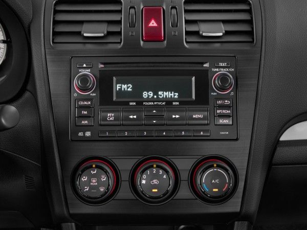 2014 Subaru Impreza Audio System1 600x450 2014 Subaru Impreza Sedan Full Review