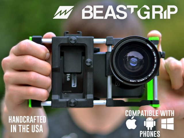 Beastgrip. Universal lens adapter for most camera phones by Vadym Chalenko — Kickstarter