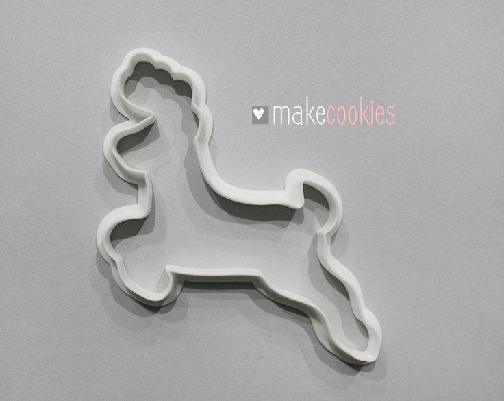 Reindeer Cookie Cutter by MakeCookies on Etsy