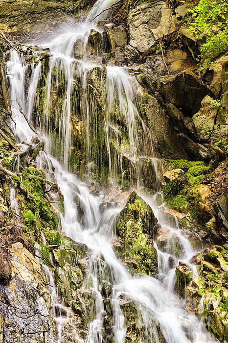Stanghe's Waterfalls (Vipiteno - Italy) #alp #dolomiti #stanghe #waterfall #poster #canvas #print #mountain #vipiteno