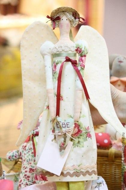 Куклы Тильды ручной работы. Ярмарка Мастеров - ручная работа Ангел для Евы. Handmade.