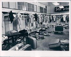 1968 Detroit Tigers locker room