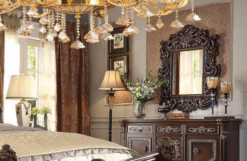 Homey Design HD-8007 Victorian European Classic Mirror For $590