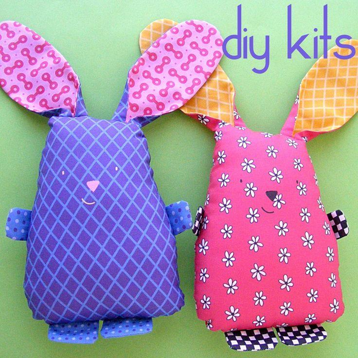 DIY Bunny Softie Kit - Shiny Happy World