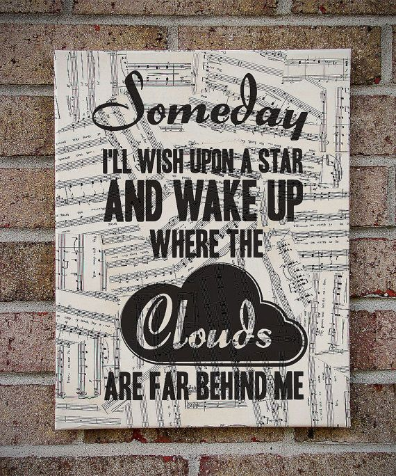 Somewhere Over the Rainbow  Wizard of Oz / Lyrics