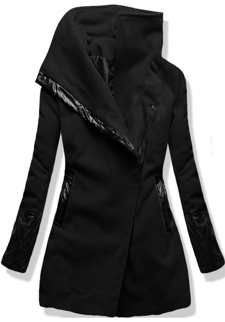 Kabát 8182 černý