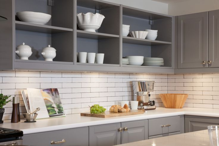 Open shelving - one of 2014's top kitchen trends #IncomeProperty