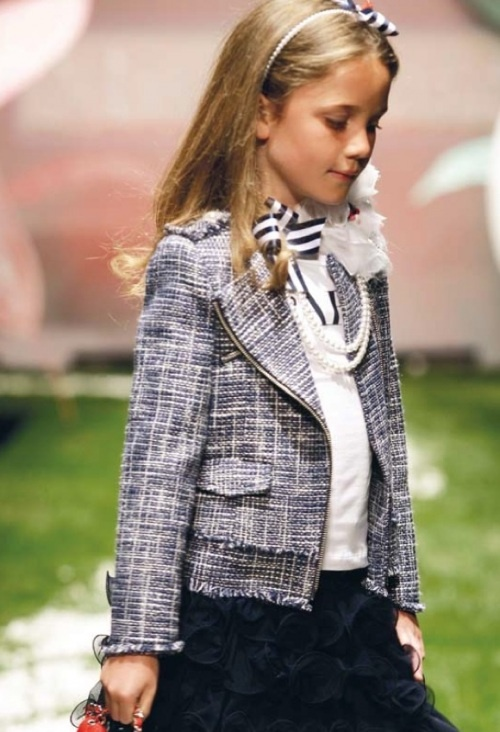 Chanel style jacket | Miss Grant