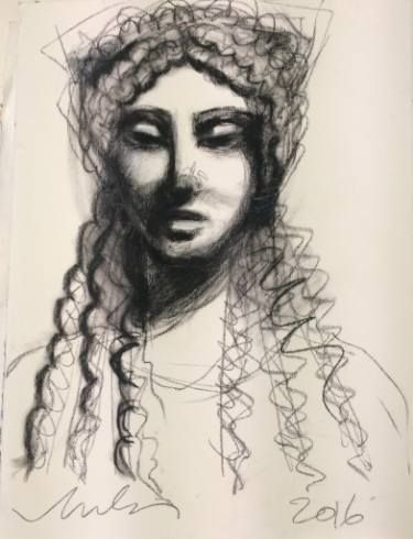 "Saatchi Art Artist melora walters; Drawing, ""Delicata-Acropolis-IV"" #art"