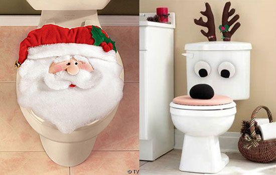 Al Baño Navidad Ha Llegado: para navideña para el baño