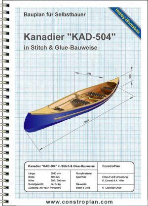 "Bauplan Kanadier ""KAD-504"""