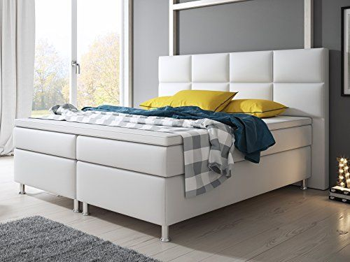 Boxspringbett holz weiß  28 best Boxspringbetten Weiss images on Pinterest | Mindoro ...
