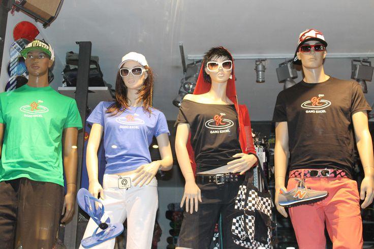 Oταν η μόδα συνάντησε την Gano Excel στο Gano Excel Shop - Tώρα και Tshirts με το λογότυπο της αγαπημένης σας εταιρείας στο Gano Excel Shop - τηλ.2310450430 - www.ganoexcelshop.gr