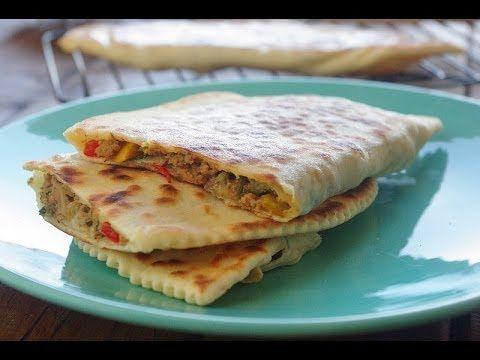 Recette des cr pes turques turkish savory pancakes for Algerian cuisine youtube