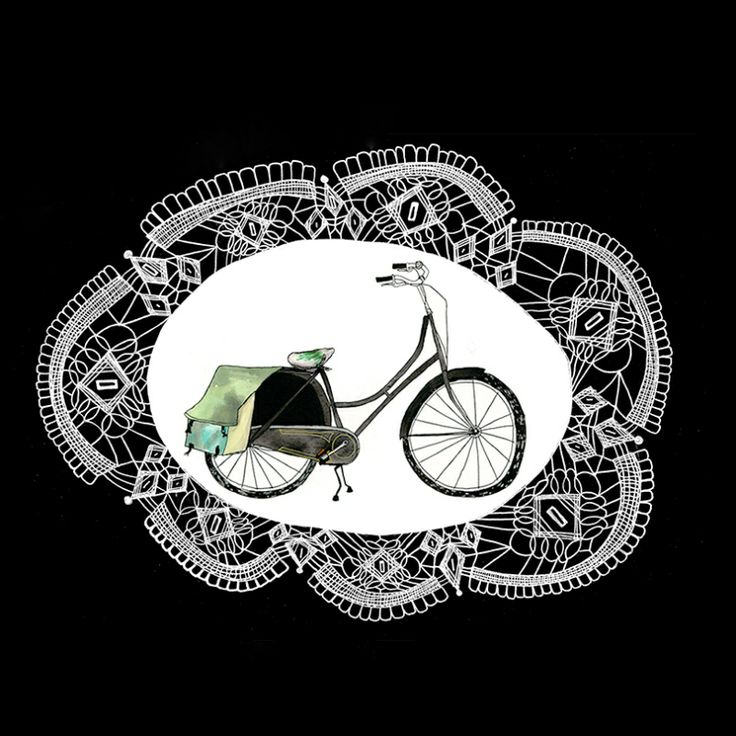 oma-fiets-lace
