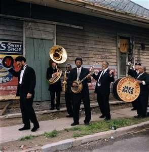 "Preservation Hall Jazz Band, ""Georgia on My Mind"""
