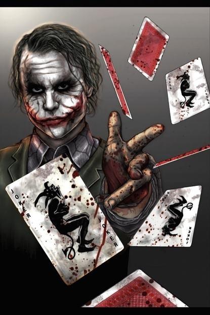 The Joker,The Dark Knight  52 pickup anyone?  (Great Fan Art)