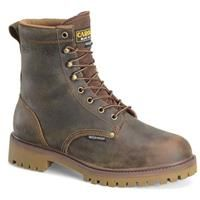"""Men's Carolina 8"""" Steel Toe Waterproof Insulated Work Boots, Old Town Folklore"""